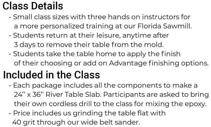 slab class details