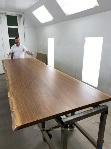 Wide Cumaru Slab Table!